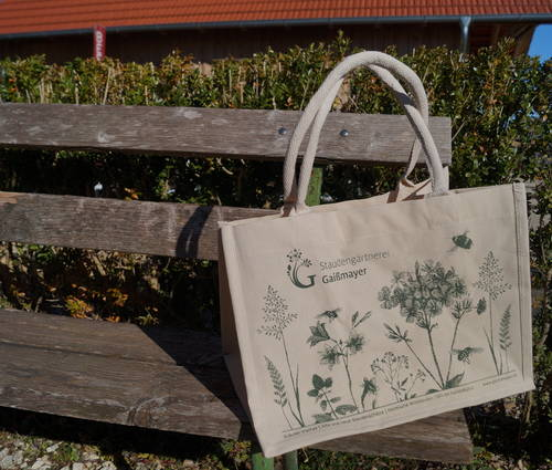 Produktbild Baumwoll-Tasche Staudengärtnerei Gaißmayer