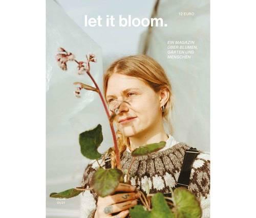 Produktbild let it bloom. Issue 01/21